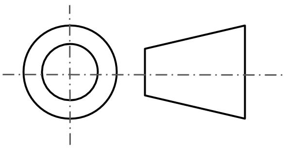 Third Angle Projection Symbol