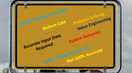 Advantage and Limitation of Simulation