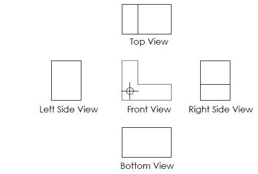First Angle And Third Angle Projection Smlease Design