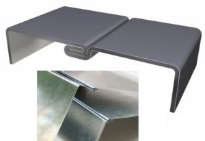 Folding or bending tabs is an economical way for making permanent sheet metal joints.