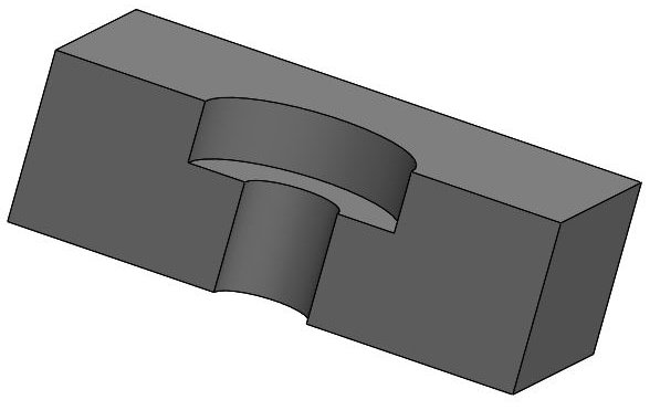 Counter-boring is a metal cutting operation for making a stepped hole.