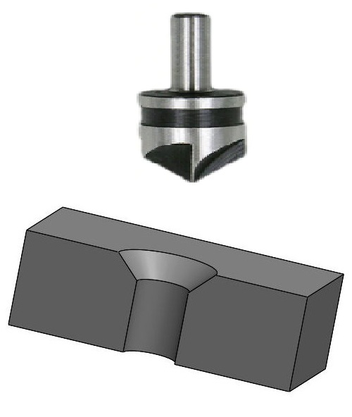 Countersinking is a metal cutting operation for making a cone shaped enlargement at the start of already drilled hole.