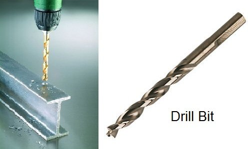 Drilling is metal cutting operation by rotating and pressing multi point cutting tool to cut a circular straight hole in solid materials.