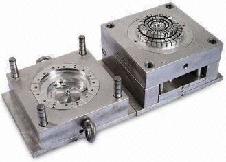 This image shows single cavity injection mold