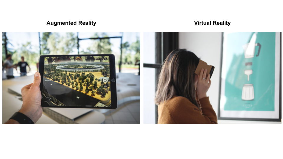 Augmented Reality vs Virtual Reality - What is the Difference