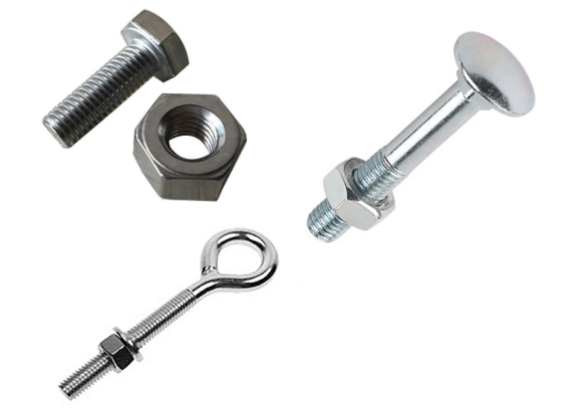 Bolt is a type of externally threaded fastener, used to position and hold two or more components together and used along with washers and nuts for high duty applications.