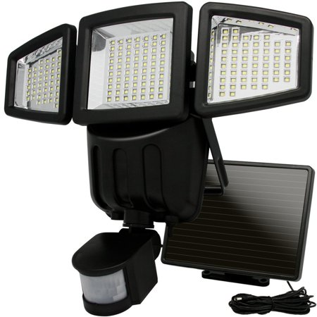 this image show a outdoor motion sensing flood light