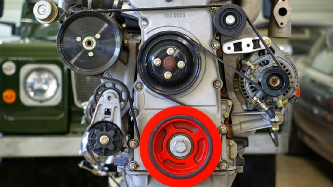 belt drive are used in cars to deliver power to various components such as alternator, air conditioning system etc.