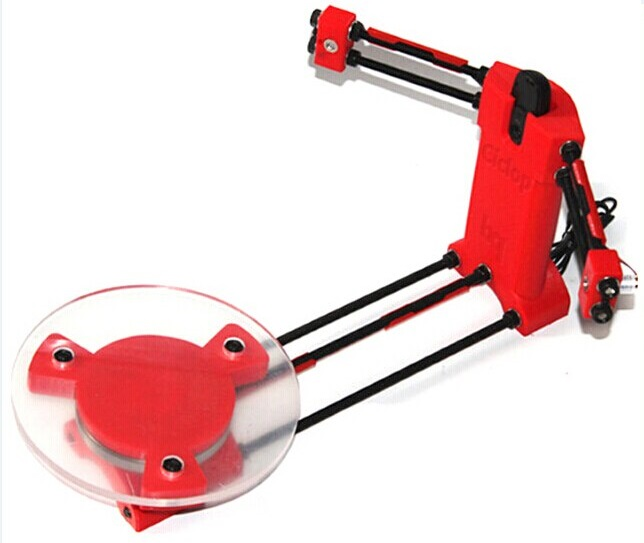 this image shows an affordable BQ Ciclop 3D Scanner