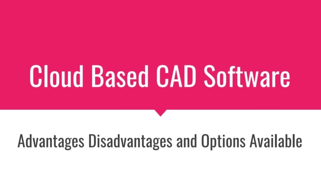 Cloud Based Cad Software