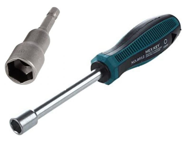 this image shows a Hex Socket type of Screwdriver