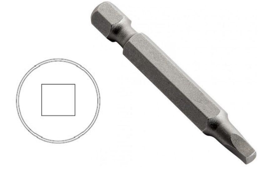 This image shows a Robertson or Square Drive Screw Driver